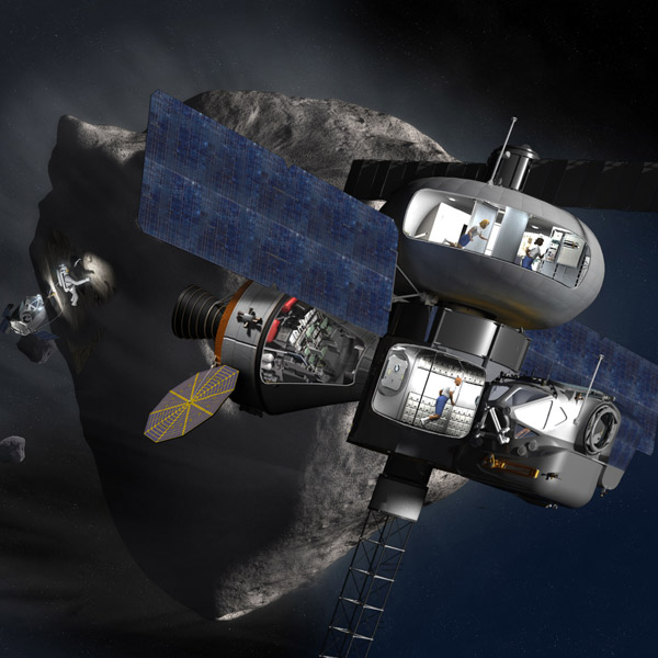 NASA, астероид, Управляй астероидами, не выходя из дома