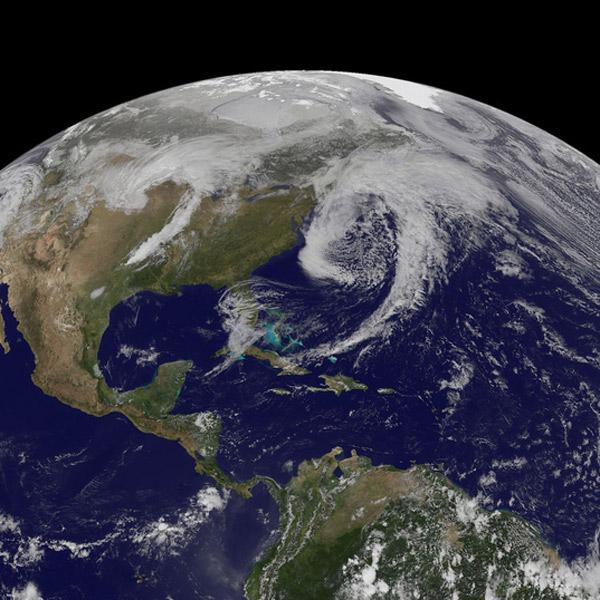 NASA,погода, Американские «атмосферные драконы»