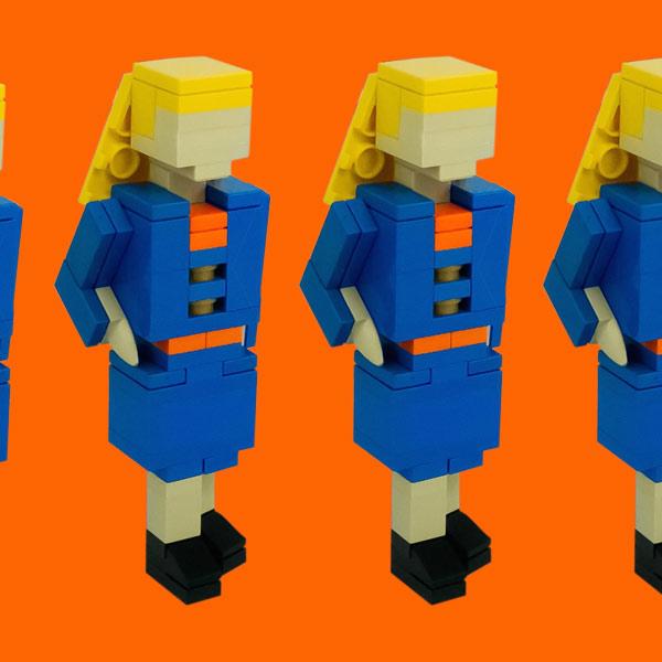 LEGO,резюме,работа, Как создать эффектное резюме из Lego