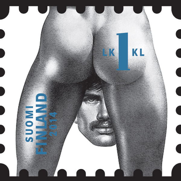 эротика, гей-культура, ЛГБТ, Финляндия выпускает гомоэротические марки