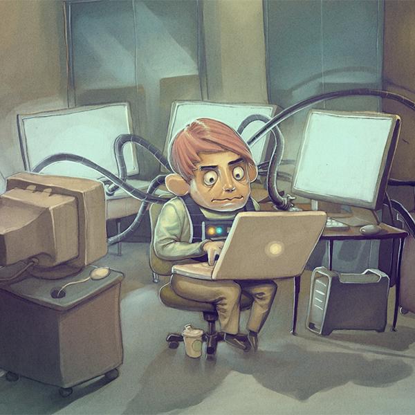 работа,программист, Самые счастливые люди — разработчики ПО