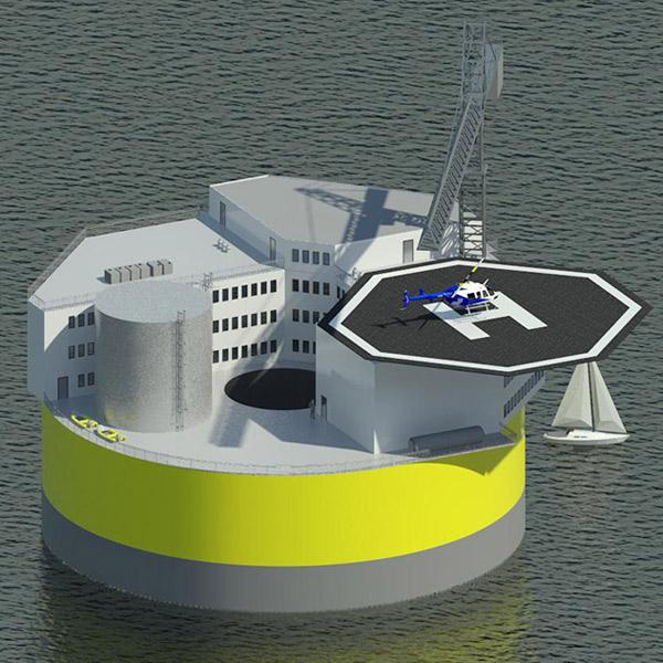 MIT,АЭС, MIT создает плавающую АЭС, которой не страшны цунами