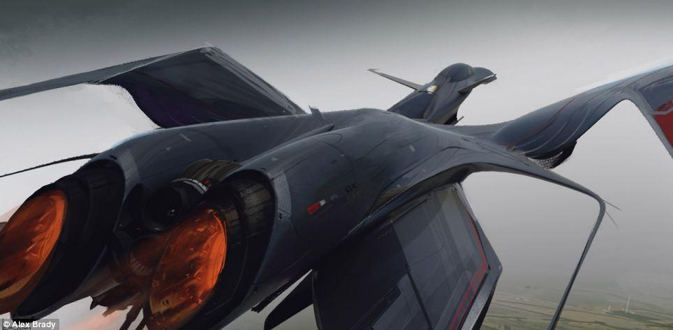 Концепты самолетов, которым никогда не суждено взлететь (15 фото)