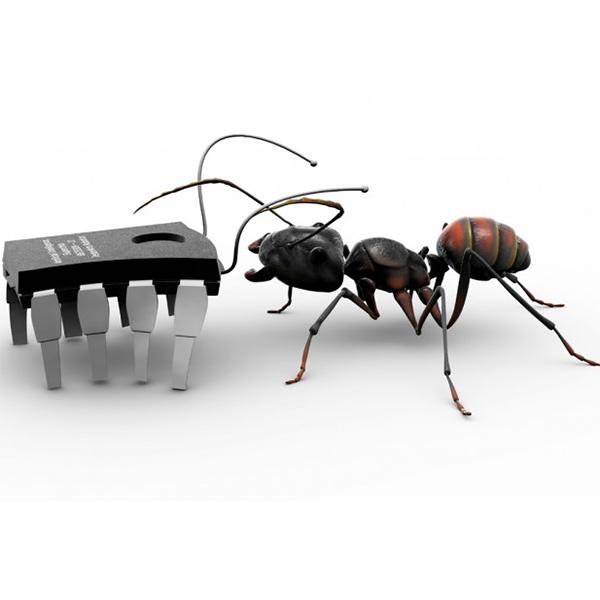 роботы,промышленность,муравьи, Будущее заводов: армии кибер-муравьев