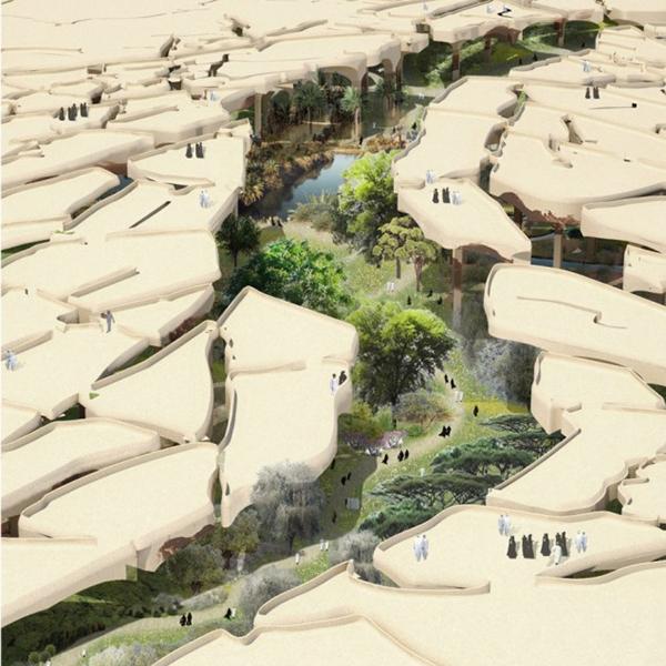 Архитектура,концепт, В Абу-Даби создадут подземный парк
