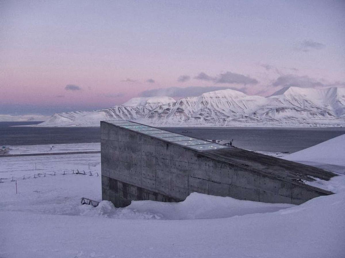 Всемирное семенохранилище на Шпицбергене, Лонгйир, Норвегия
