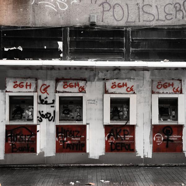 банкомат, безопасность, химия, Банкомат, который плюется кислотой