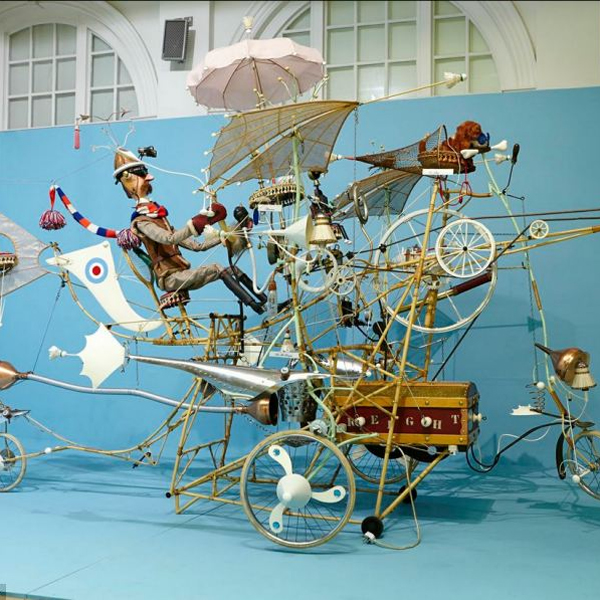 футуризм, концепт, Art, От лунного велосипеда до марсианского катера