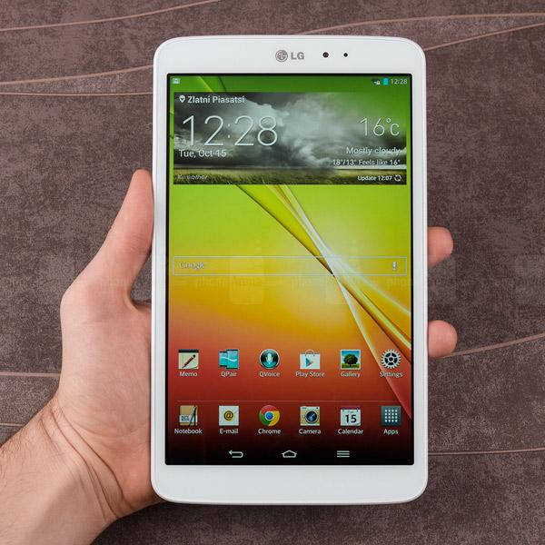 LG, планшет, G Pad, LG объявляет о трех новых планшетах G Pad