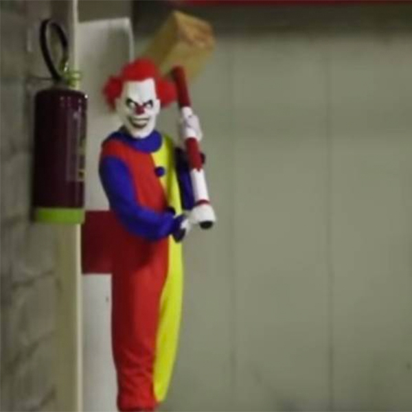 Хоррор, клоун, YouTube, вирус, Один из самых страшных розыгрышей