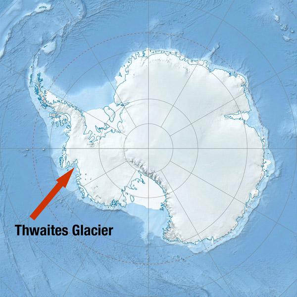 Антарктида, ледник, катастрофа, природа, глобальное потепление, Разрушение западного ледникового покрова Антарктиды уже началось