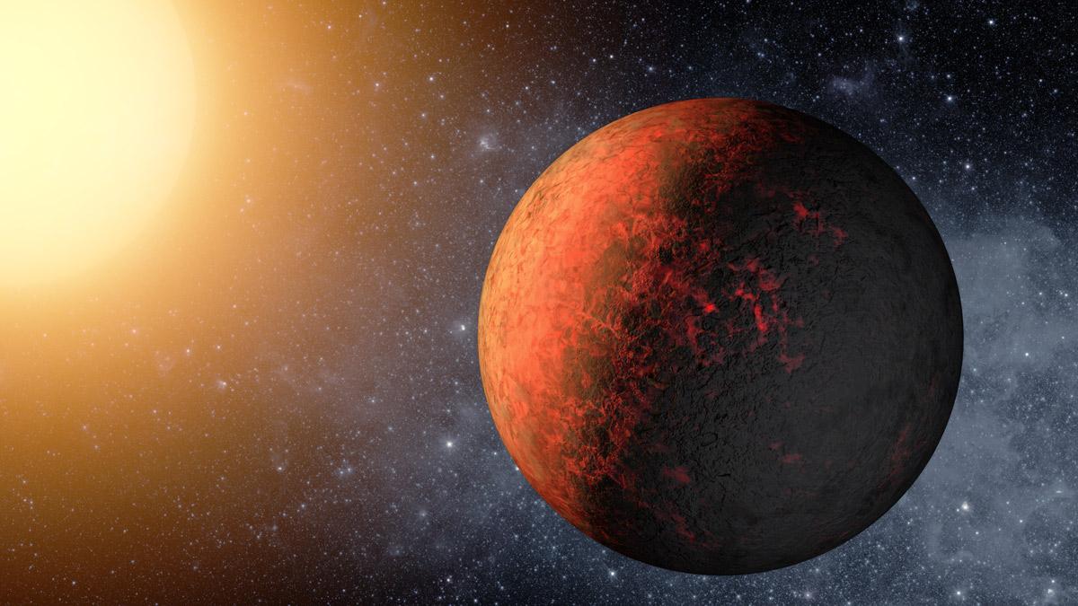 kepler-20e экзопланета вулканов