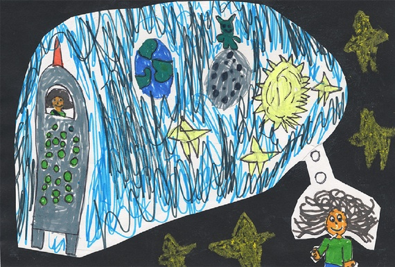 Космос глазами детей (9 фото)