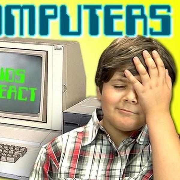 Дети,компьютер,80-е, Как современные дети реагируют на компьютеры 80-х