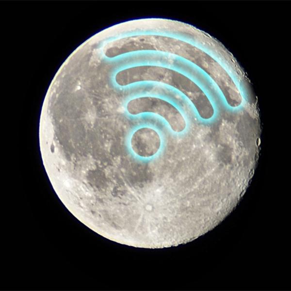 Луна, NASA, Wi-Fi, На Луне будет развернут Wi-Fi