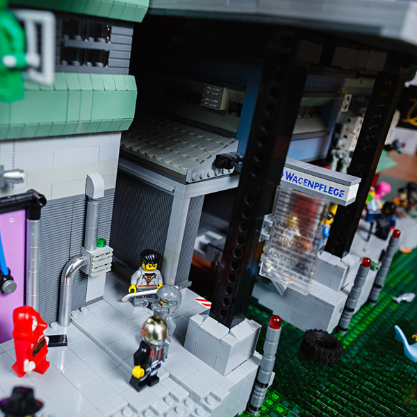 LEGO, Город Lego Cyberpunk