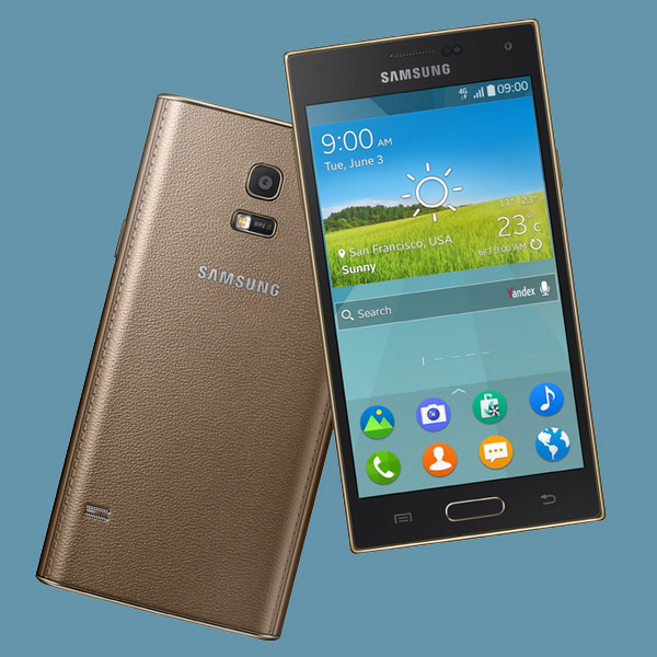 Samsung, Samsung Z, Tizen, смартфоны, Samsung представляет первый смартфон на Tizen