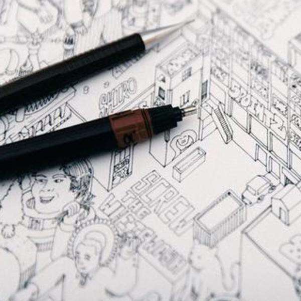 интернет,Art,искусство,Kikstarter, Художник попытался нарисовать интернет