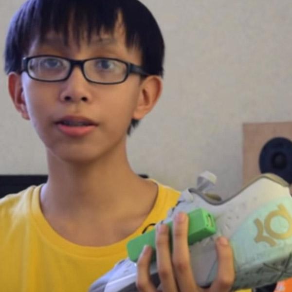 обувь, зарядка, смартфоны, Обувь, которая умеет заряжать телефоны