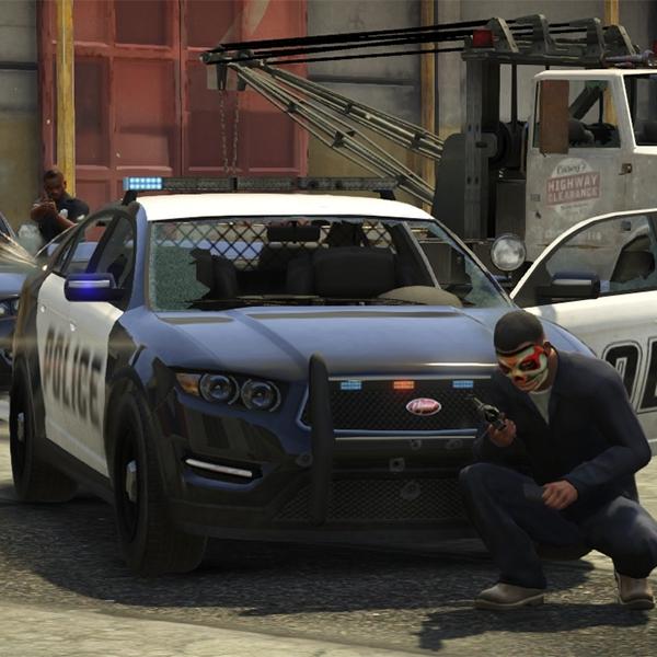 GTA V, Grand Theft Auto V для PS4, Xbox One и PC выйдет этой осенью