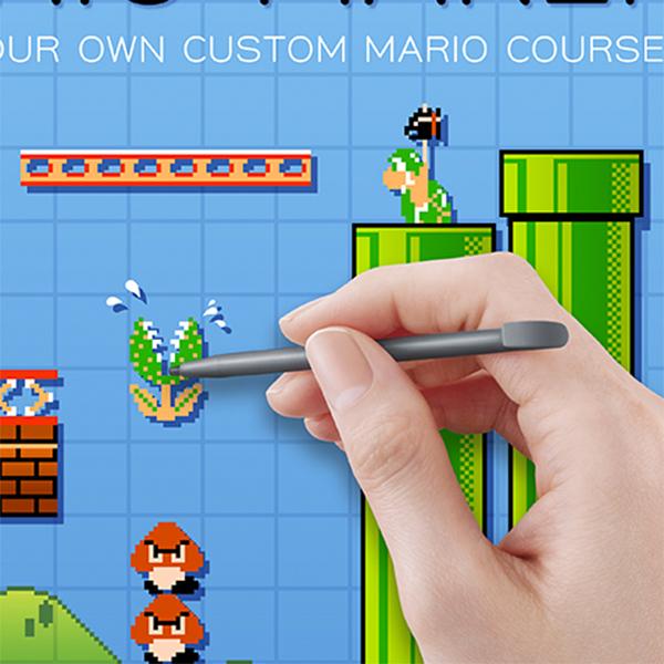 Nintendo,Mario,8-bit,gamedev, Nintendo дает пользователям возможность создавать собственные уровни в Mario