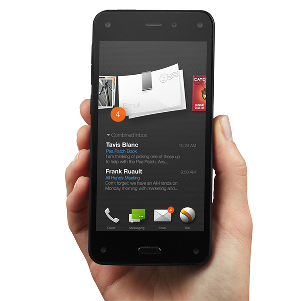 Amazon, Fire Phone, Android, Amazon представила обещанный Fire Phone