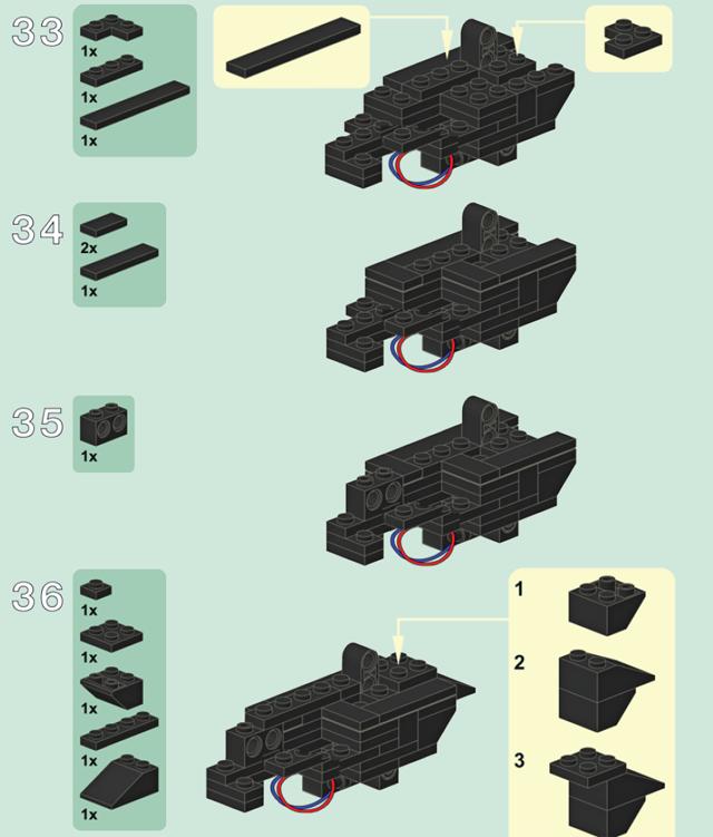 Лего инструкция по сборке оружия