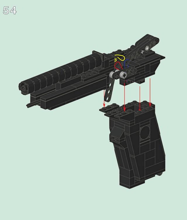 Инструкция по сборке пистолета